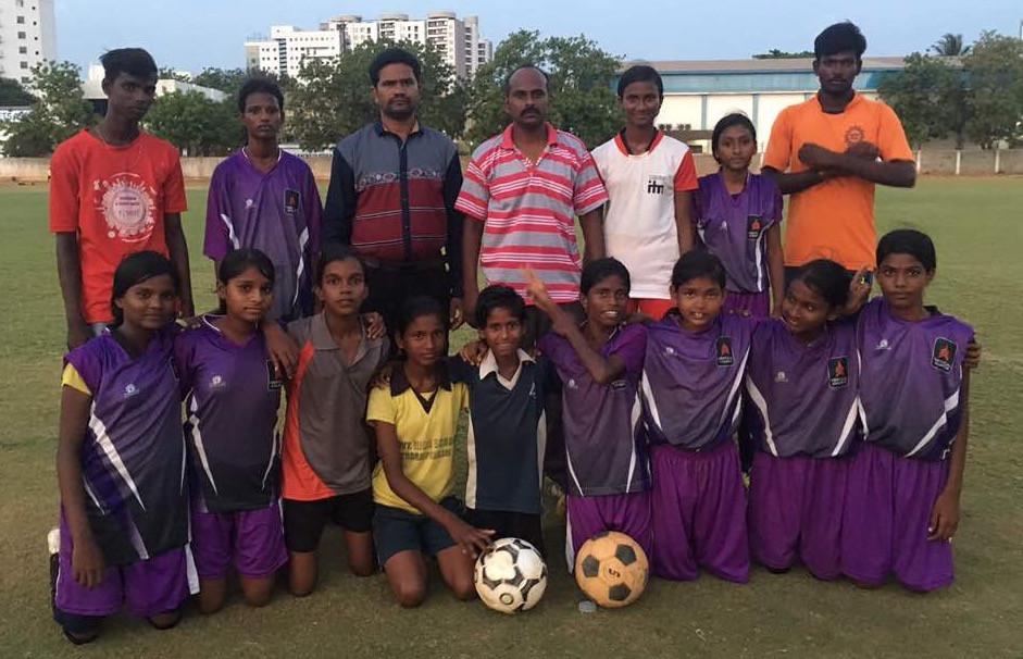 Fuel Sports Girls' Team 1