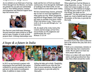 Fuel News - January 2012