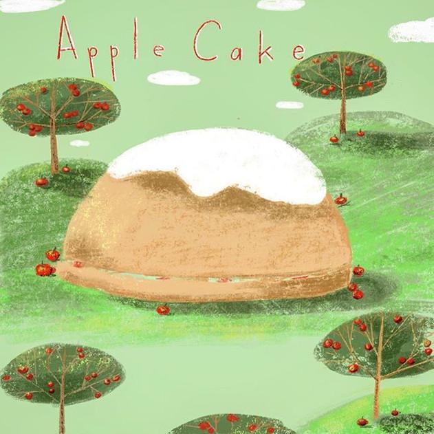 A while ago I started illustrating baker