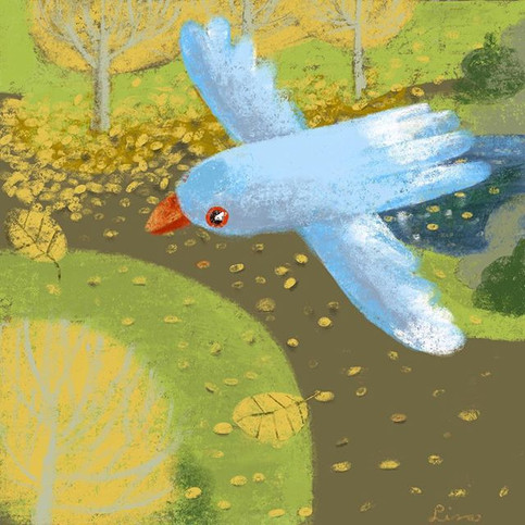 Bird Flying over the gardens. ._.jpg