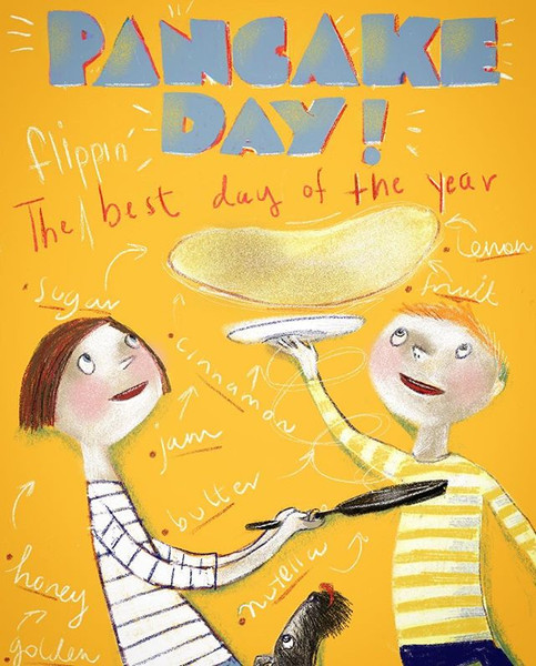 #pancake day - the best day of the year.