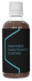 Graphene Maintenance Coating Bottle PNG.