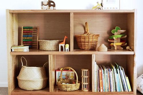 105. Solid Recycled Tasmanian oak bookcase