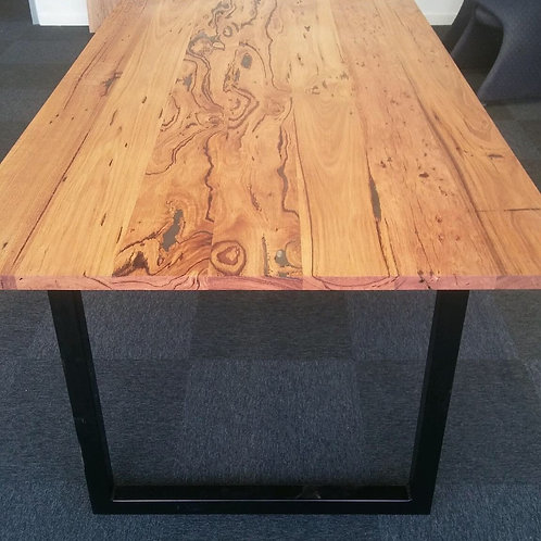118. Recycled wild messmate dining table
