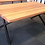 Thumbnail: 119. Recycled mixed hardwood dining table