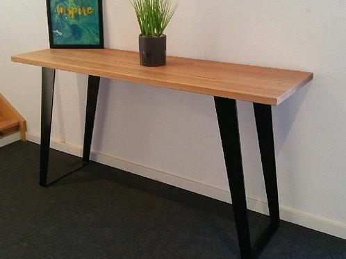 131. Recycled Tasmanian oak hall table