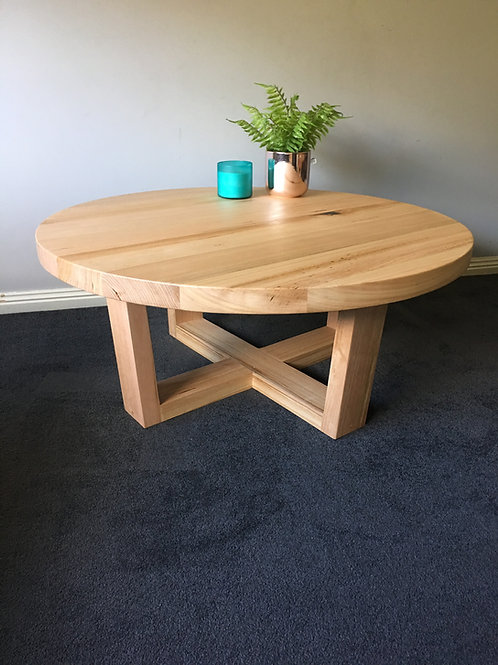 178.  Vic Ash round coffee table