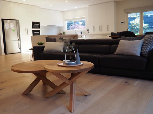 154. Messmate nesting coffee tables