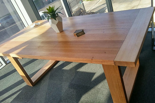 134. Recycled Tasmanian Oak dining table
