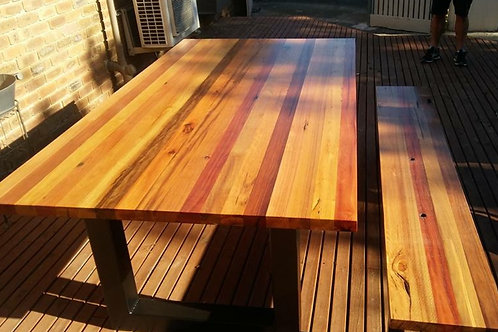 144. Spotted Gum dining table