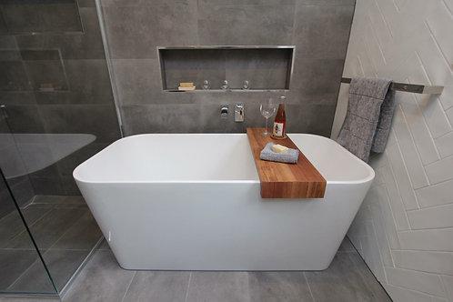 120. Recycled Tasmanian Oak bath caddy