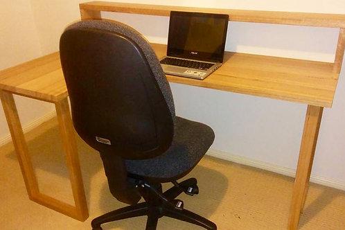 145. Australian hardwood study desk