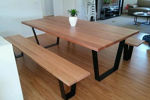 135. Tasmanian Oak Dining Table