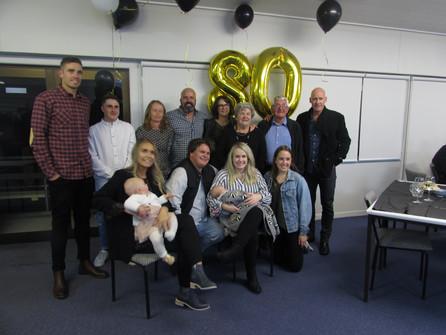 80th birthday for John Savage