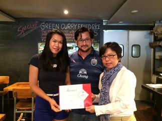Thai Select Award: Khoa San Road Restaurant