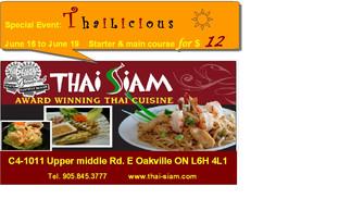 THAILICIOUS Event at THAI SIAM