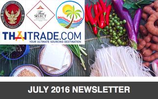 Newsletter: July 2016