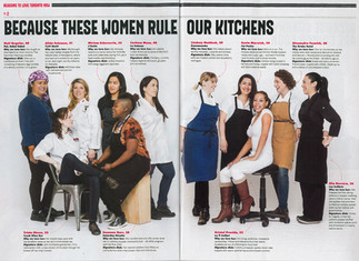 TORONTO LIFE: Because these women rule our kitchens