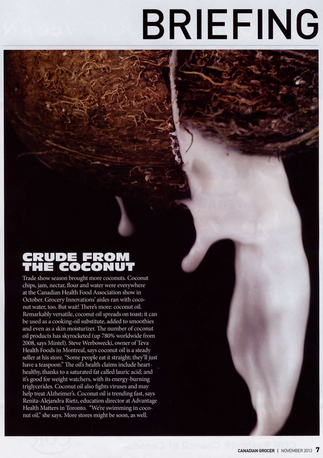 Crude from the Coconut