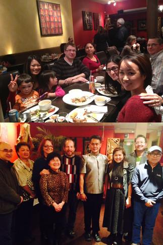 Typhoon Yolanda/Haiyan Fund Raising at Georgetown Thai Cuisine