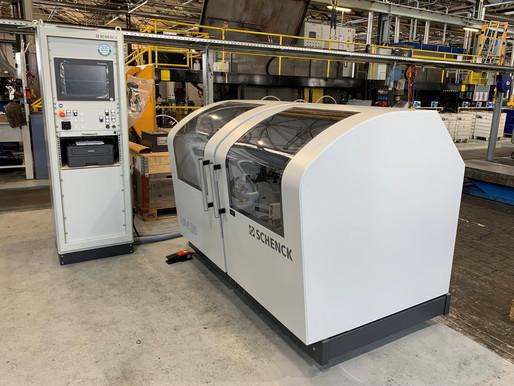 Zwei neu Auswuchtmaschinen bei Kunden Installiert