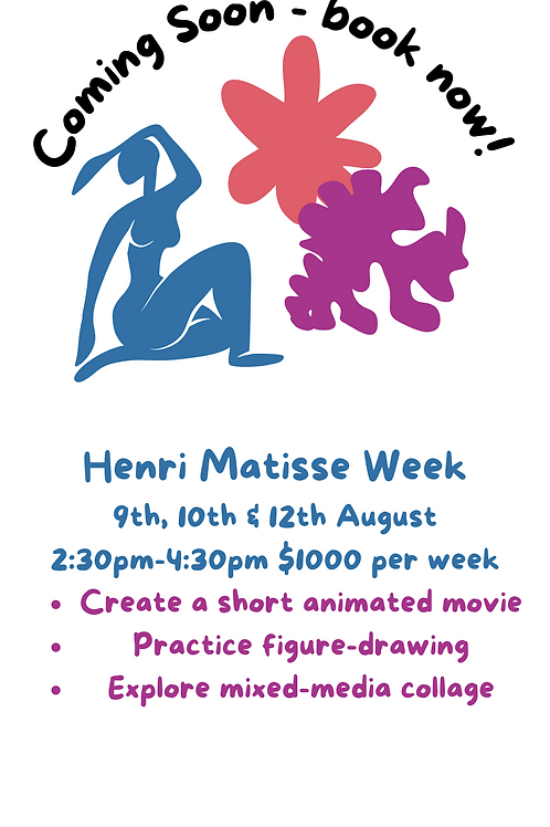 ARTIST CAMP : Week 6