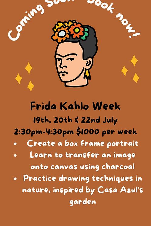 ARTIST CAMP : Week 3