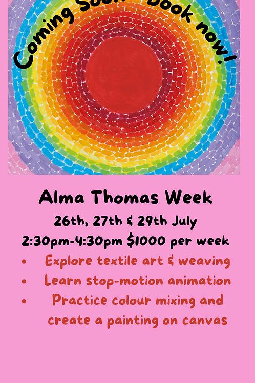 ARTIST CAMP : Week 4