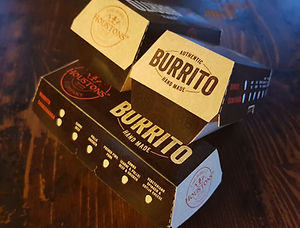 Take out burrito boxes
