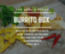 Burrito Box for Home and Office
