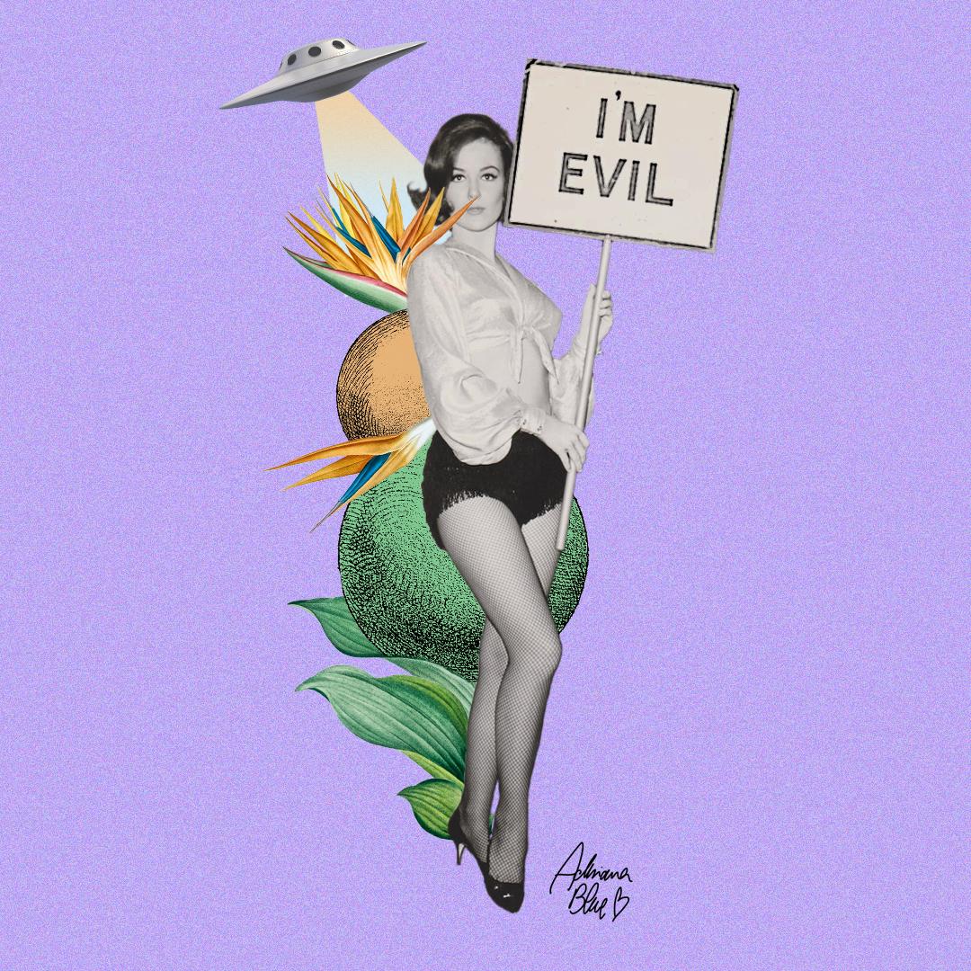 I'm evil.