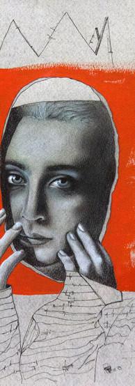 SENZA TITOLO Tecnica mista su carta 21 cm x 29 cm, 2019 (Collezione Privata)