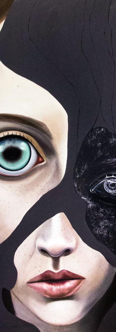 L'ALTRO ME Olio su tela 140 cm x 180 cm, 2020