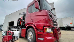 Stunning Scania for local manufacturer