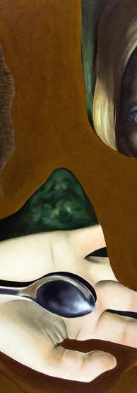 IMPOSSIBLE Olio su tela 100 cm x 80 cm, 2020
