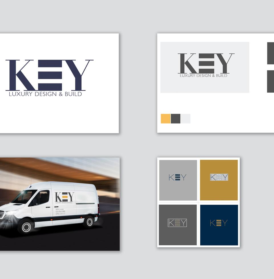 Key Building Works Branding