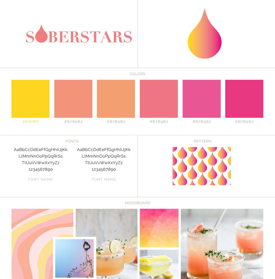 Soberstars brand package