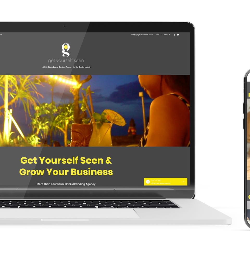 Get Yourself Seen Website