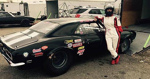 Your VA Races a 68 Camaro Drag Race Car