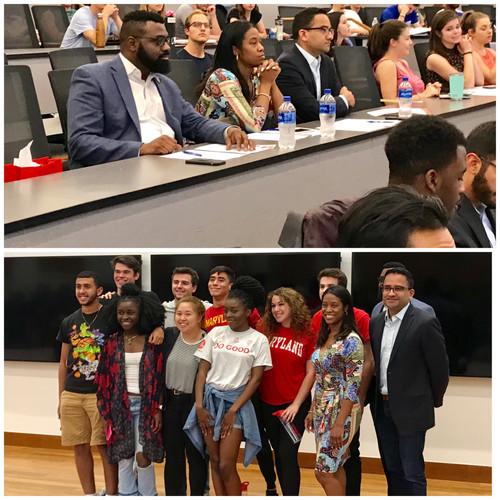 University of Maryland 2018 Do Good Course
