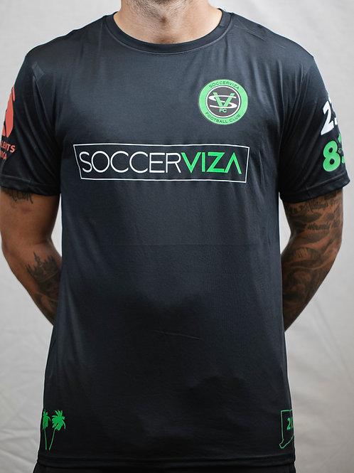 SoccerViza FC Black Jersey