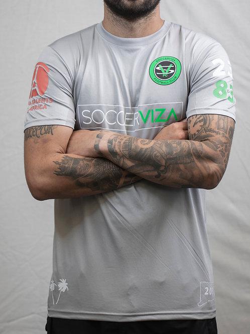 SoccerViza FC Grey Jersey