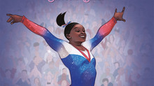 Cover Reveal for FLYING HIGH: The Story of Gymnastics Champion Simone Biles & Photo of the Month