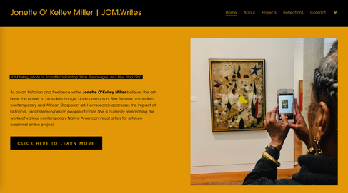 Jom.Writes' Website