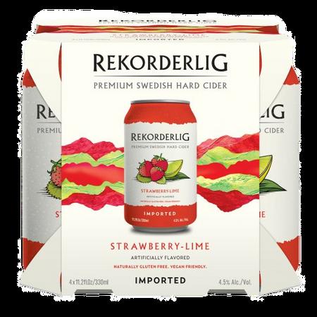 Rekorderlig: Strawberry-Lime