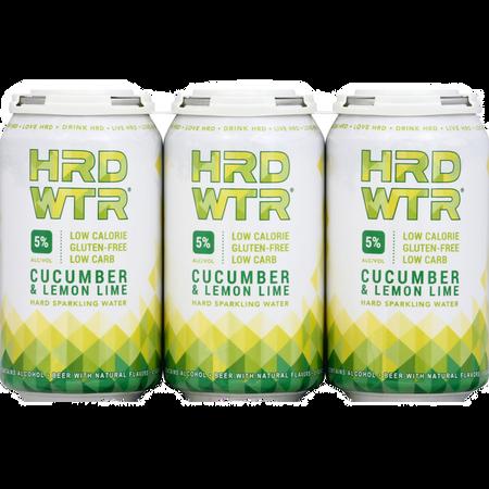 HRD WTR: Cucumber & Lemon Lime
