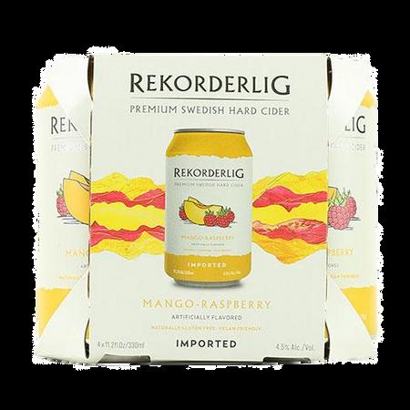Rekorderlig: Mango-Raspberry