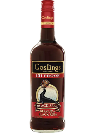 Goslings 151 Bermuda Black