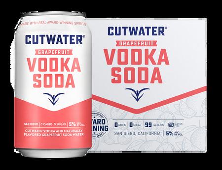 Cutwater Grapefruit Vodka Soda