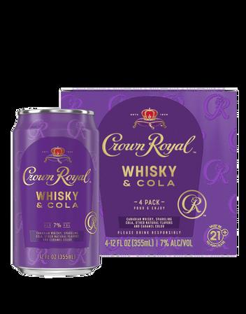 Crwon Royal Whiskey & Cola